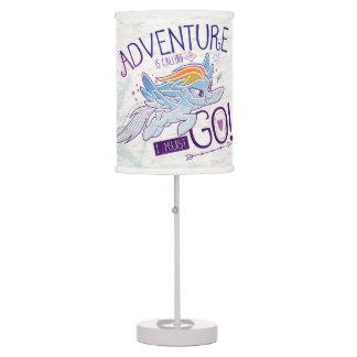 My Little Pony | Rainbow - Adventure Is Calling Table Lamp
