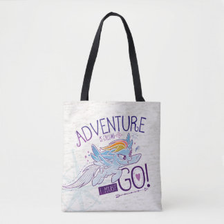 My Little Pony | Rainbow - Adventure Is Calling Tote Bag