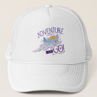 My Little Pony | Rainbow - Adventure Is Calling Trucker Hat