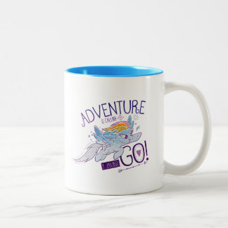 My Little Pony | Rainbow - Adventure Is Calling Two-Tone Coffee Mug