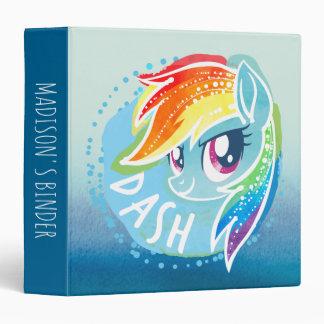 My Little Pony | Rainbow Dash Watercolor 3 Ring Binders