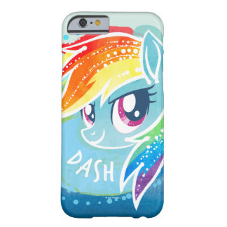 My Little Pony | Rainbow Dash Watercolor Barely There iPhone 6 Case
