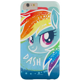 My Little Pony | Rainbow Dash Watercolor Barely There iPhone 6 Plus Case