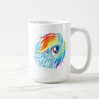 My Little Pony | Rainbow Dash Watercolor Coffee Mug