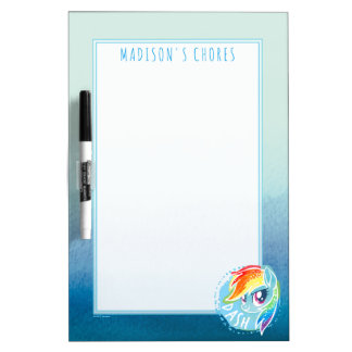 My Little Pony | Rainbow Dash Watercolor Dry Erase Board
