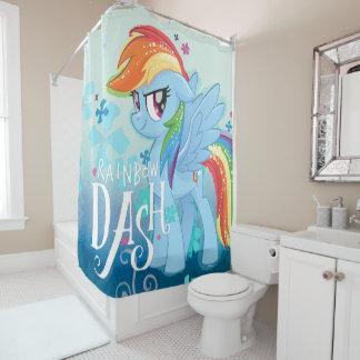 My Little Pony | Rainbow Dash Watercolor Flowers