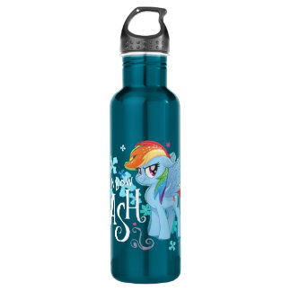 My Little Pony | Rainbow Dash Watercolor Flowers 710 Ml Water Bottle