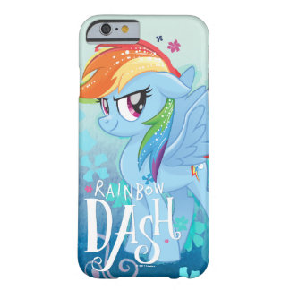 My Little Pony | Rainbow Dash Watercolor Flowers Barely There iPhone 6 Case