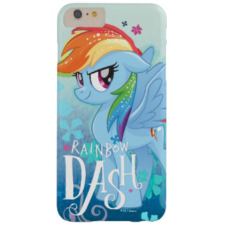 My Little Pony | Rainbow Dash Watercolor Flowers Barely There iPhone 6 Plus Case