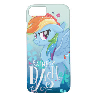 My Little Pony | Rainbow Dash Watercolor Flowers iPhone 8/7 Case