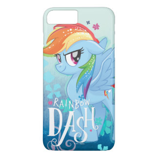 My Little Pony | Rainbow Dash Watercolor Flowers iPhone 8 Plus/7 Plus Case