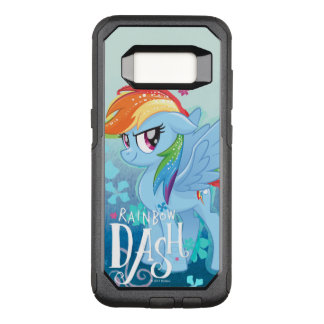 My Little Pony | Rainbow Dash Watercolor Flowers OtterBox Commuter Samsung Galaxy S8 Case