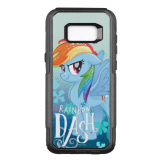 My Little Pony | Rainbow Dash Watercolor Flowers OtterBox Commuter Samsung Galaxy S8+ Case
