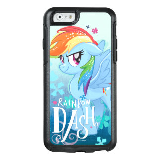 My Little Pony | Rainbow Dash Watercolor Flowers OtterBox iPhone 6/6s Case