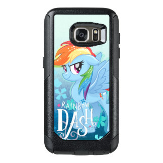 My Little Pony | Rainbow Dash Watercolor Flowers OtterBox Samsung Galaxy S7 Case