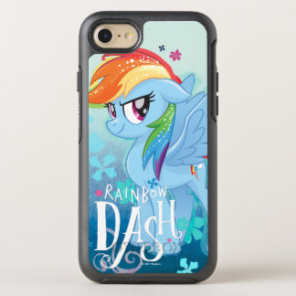 My Little Pony | Rainbow Dash Watercolor Flowers OtterBox Symmetry iPhone 8/7 Case