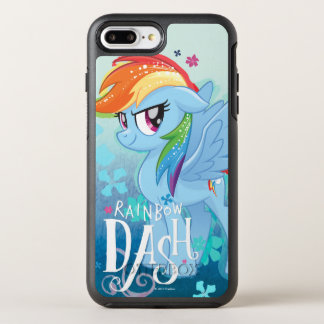 My Little Pony | Rainbow Dash Watercolor Flowers OtterBox Symmetry iPhone 8 Plus/7 Plus Case
