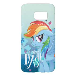 My Little Pony | Rainbow Dash Watercolor Flowers Samsung Galaxy S7 Case