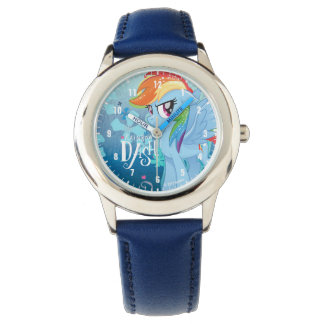 My Little Pony | Rainbow Dash Watercolor Flowers Watch