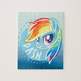 My Little Pony | Rainbow Dash Watercolor Jigsaw Puzzle