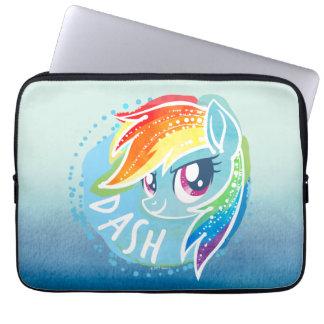 My Little Pony   Rainbow Dash Watercolor Laptop Sleeve