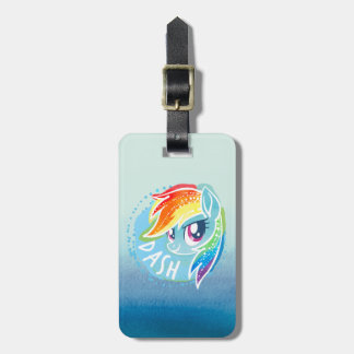 My Little Pony | Rainbow Dash Watercolor Luggage Tag