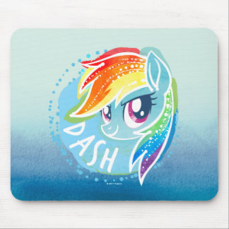 My Little Pony | Rainbow Dash Watercolor Mouse Pad