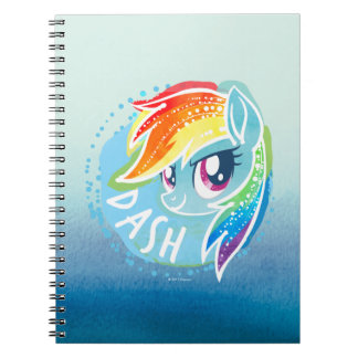 My Little Pony | Rainbow Dash Watercolor Notebook