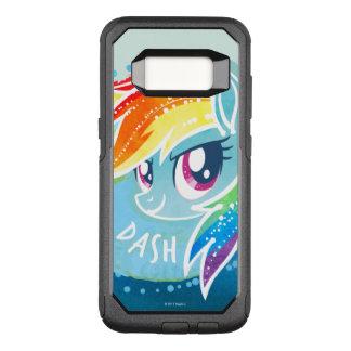 My Little Pony | Rainbow Dash Watercolor OtterBox Commuter Samsung Galaxy S8 Case