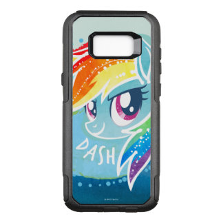 My Little Pony | Rainbow Dash Watercolor OtterBox Commuter Samsung Galaxy S8+ Case