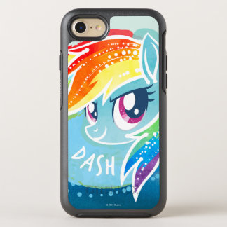 My Little Pony | Rainbow Dash Watercolor OtterBox Symmetry iPhone 7 Case