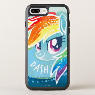 My Little Pony | Rainbow Dash Watercolor OtterBox Symmetry iPhone 8 Plus/7 Plus Case