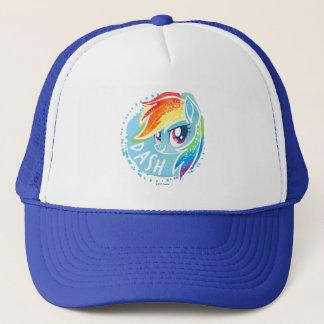 My Little Pony | Rainbow Dash Watercolor Trucker Hat