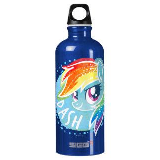 My Little Pony   Rainbow Dash Watercolor Water Bottle