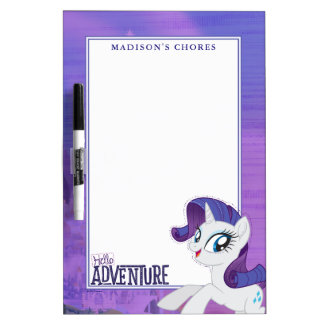 My Little Pony | Rarity - Hello Adventure Dry Erase Board