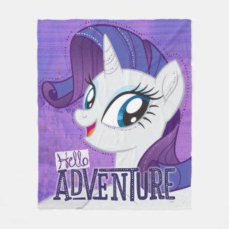 My Little Pony | Rarity - Hello Adventure Fleece Blanket