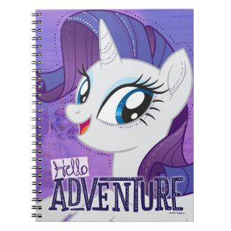 My Little Pony   Rarity - Hello Adventure Notebook