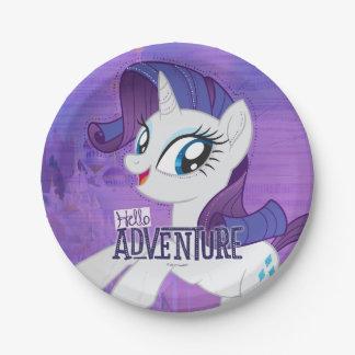 My Little Pony | Rarity - Hello Adventure Paper Plate