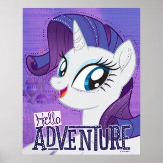 My Little Pony | Rarity - Hello Adventure Poster