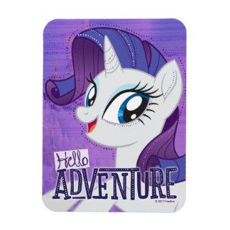 My Little Pony | Rarity - Hello Adventure Rectangular Photo Magnet