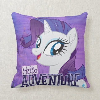 My Little Pony | Rarity - Hello Adventure Throw Pillow
