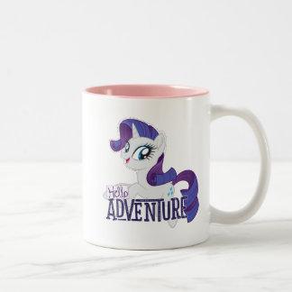 My Little Pony | Rarity - Hello Adventure Two-Tone Coffee Mug