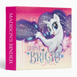 My Little Pony | Rarity - Shine Bright 3 Ring Binders