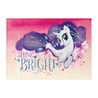 My Little Pony | Rarity - Shine Bright Acrylic Print