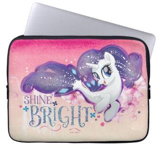 My Little Pony   Rarity - Shine Bright Laptop Sleeve