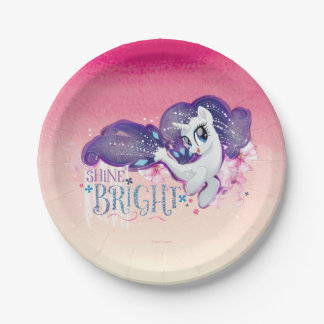 My Little Pony | Rarity - Shine Bright Paper Plate