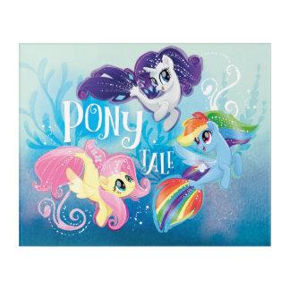 My Little Pony | Seaponies - Pony Tale Acrylic Print