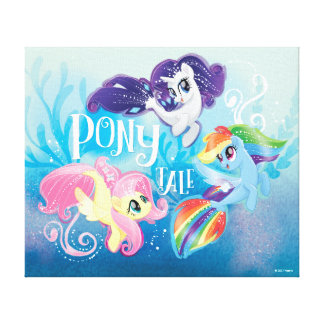 My Little Pony | Seaponies - Pony Tale Canvas Print