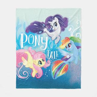 My Little Pony   Seaponies - Pony Tale Fleece Blanket