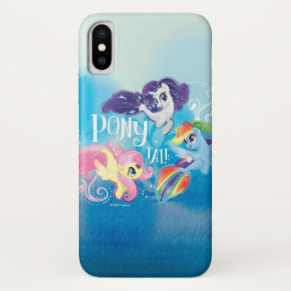 My Little Pony | Seaponies - Pony Tale iPhone X Case